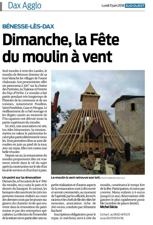 Article SO 11 Juin (pub fete 2018)