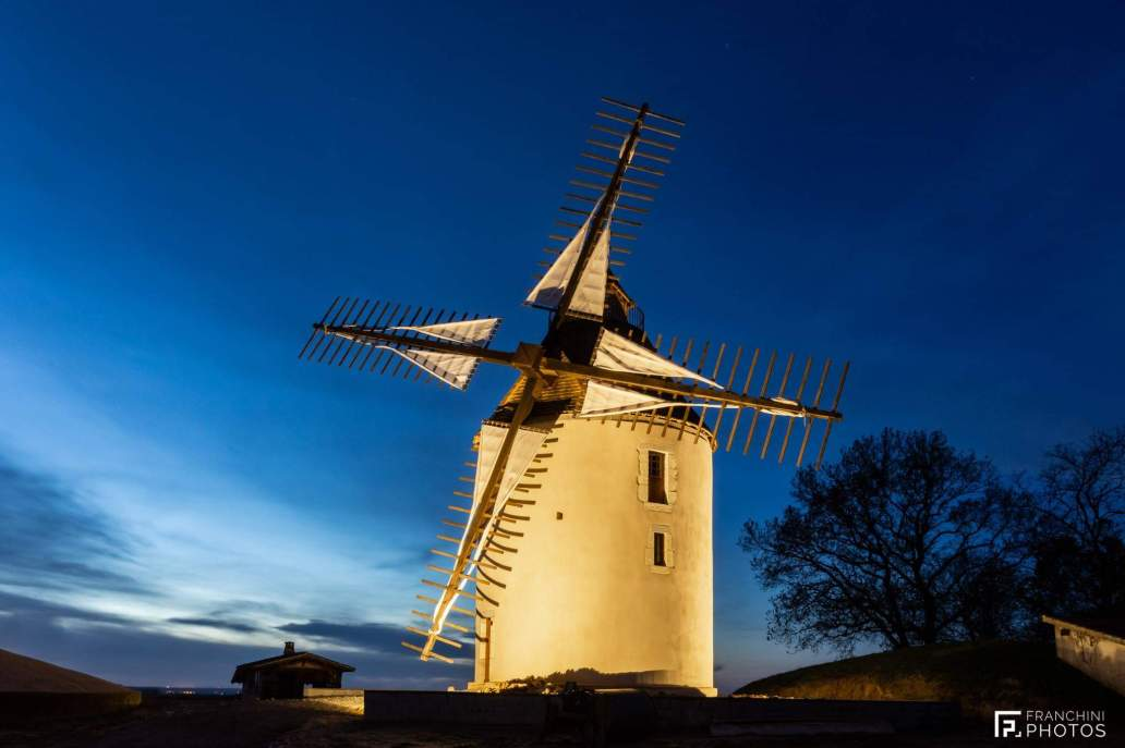 Moulin nuit (Pascal Franchini)