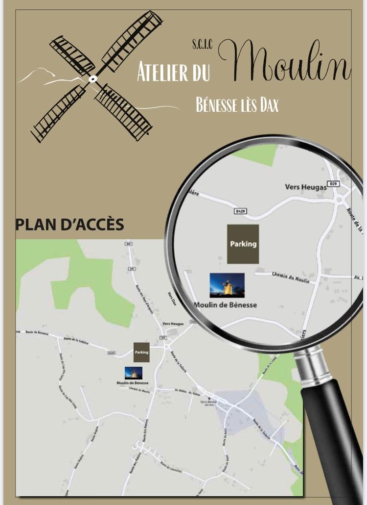 Affiche Plan Atelier